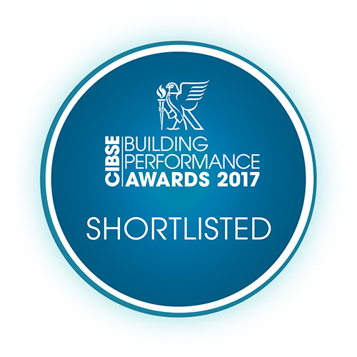 CIBSE AWARD SHORTLISTED 2017